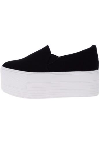 Maxstar C7 60 Synthetic Cotton White Platform Slip on Sneakers US Women Size MA168SH15DKIHK_1