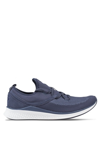 New Balance white and navy Lazr Future Sport Shoes C207BSH4751849GS_1