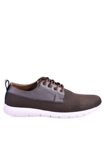 Sogno brown Sepatu Sneakers Casual GHS 09 64C30SH4DB1127GS_1