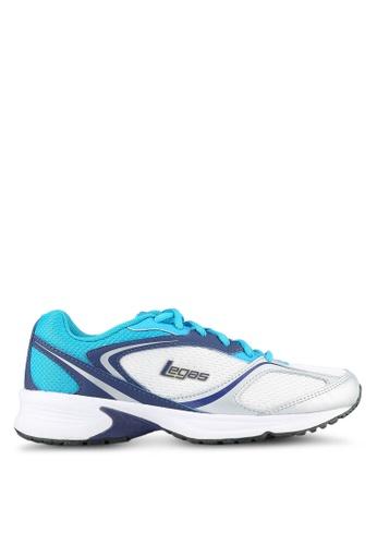 Legas blue and multi Neptune LA M Shoes LE684SH0S2MTMY_1
