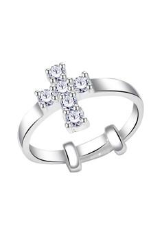 Cross Stone Ring