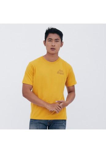 M231 T-Shirt Grafis Pendek Mustard 1927 32F40AA7453575GS_1