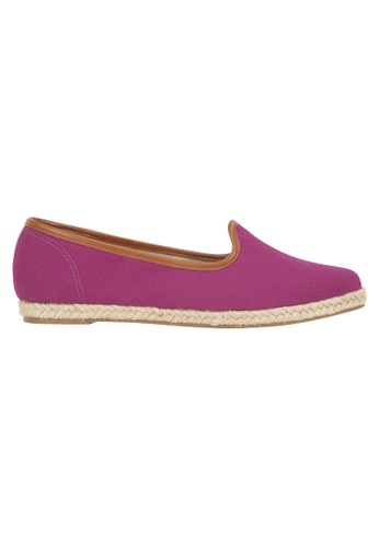 Beira Rio purple Solid Color Pointed Casual Slip On BE995SH75ESQHK_1