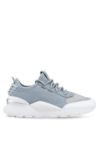 da09a54bebed Puma Select grey and silver RS-0 Optic Shoes B4400SH400DE3CGS 1