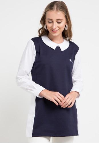 RA Jeans navy Peony Blouse 38475AA35E36BDGS_1
