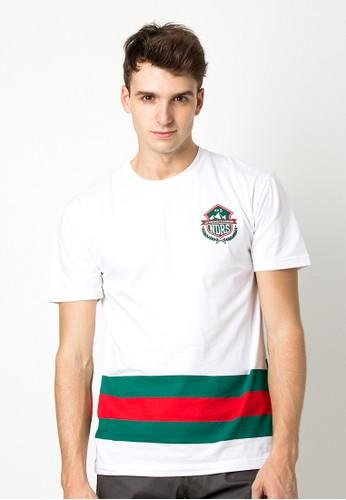Endorse Tshirt Mb College2 White END-OG104*