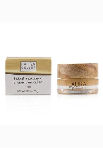 Laura Geller LAURA GELLER - 烘焙亮膚遮瑕膏Baked Radiance Cream Concealer - # Tan 6g/0.21oz 5DE09BEDFC50F9GS_1