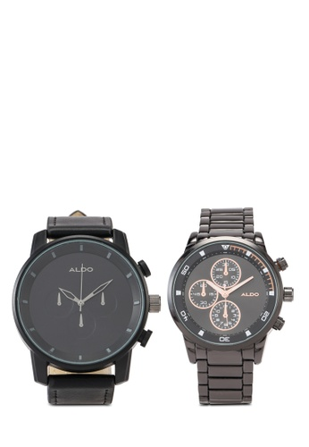 ALDO black Pillinger Watches 2-In-1 06D78ACF9A1A02GS_1