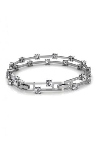 Her Jewellery silver Bonding Bracelet WG - Gelang Crystal Swarovski by Her Jewellery 6DF2BACC06806AGS_1