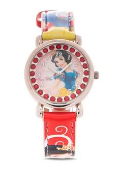 Disney Princess Leather Strap Analog Watch