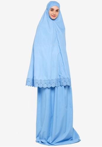 Amar Amran blue Telekung Marwah 573BDAA1F51E6CGS_1