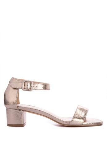 1eb9221f566c Shop Matthews London Ankle Strap Low Heeled Sandals Online on ZALORA  Philippines