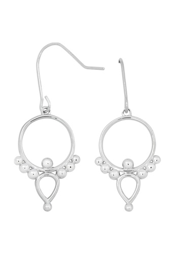 Pastiche silver Bamboo Earrings 5B870AC9AE2049GS_1