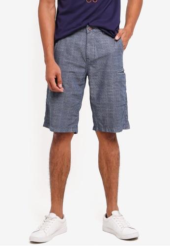 ESPRIT blue Woven Regular Shorts 9294CAAEF7EAA7GS_1