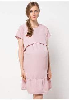 Maternity Nursing Dress 53020 CH841AA35PSIID 1 Chantilly ... a3b081f2a5