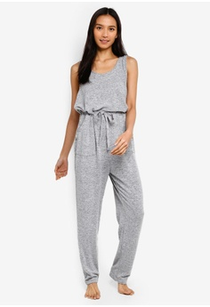 bc6bc182ab Cotton On Body grey Supersoft Jumpsuit 8CDD6AA161B461GS_1
