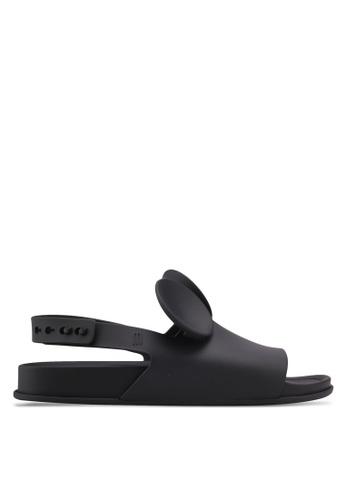 Melissa black Melissa Beach Slide Disney Sandals ME121SH0SX7KMY_1