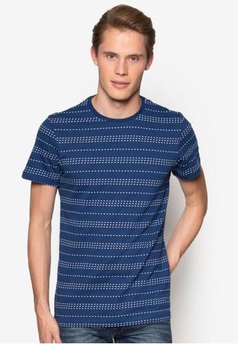 點點條紋短袖TEE,esprit causeway bay 服飾, T恤