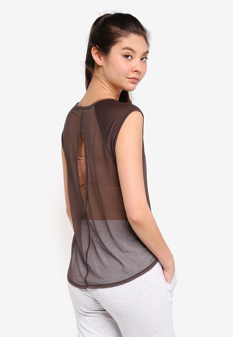 Smokey On Back Cotton Shirt Body Split Bronze T pfqAwzYA