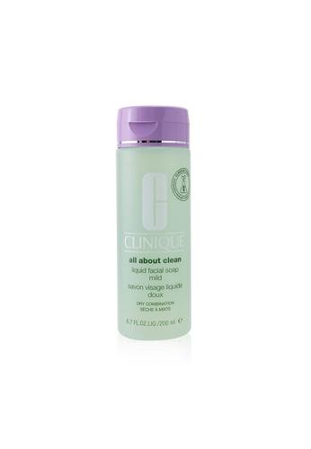 Clinique CLINIQUE - All About Clean Liquid Facial Soap Mild - Dry Combination Skin 200ml/6.7oz 47237BE0F8BC63GS_1