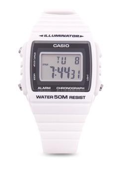 Digital Watch W-215H-7A-WHITE-V&V
