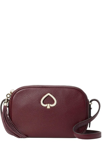 Kate Spade red Kate Spade Kourtney Camera Bag in Cherrywood 5D3C8ACE641CC4GS_1