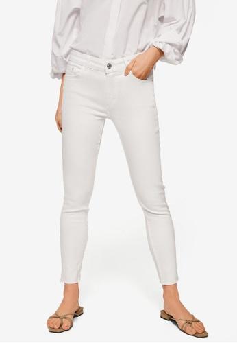Mango white Crop Skinny Isa Jeans 2E8AEAA54A17A4GS_1
