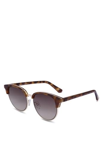 Le Specs brown Deja Vu 1702040 Sunglasses 68FA6GL56E6776GS_1