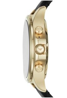 5c3505434bc Emporio Armani Armani Alberto Black Smart Watch ART5004 S  599.00. Sizes  One Size