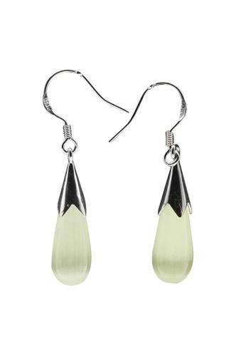 Elfi silver Elfi 925 Sterling Silver Pearl Drop Earrings SE41 EL186AC74MXPMY_1