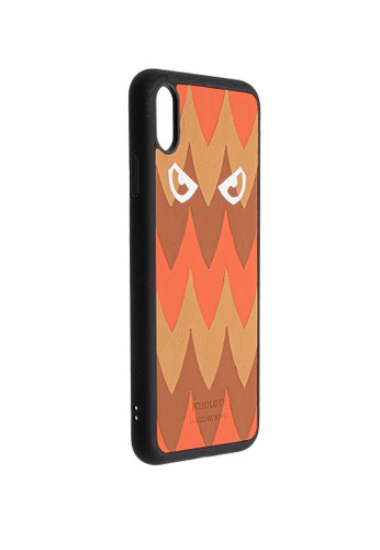 POROLUXE orange PHONE CASE FOR IPHONE XS MAX 417A0AC58DCBC7GS_1