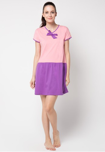 PUPPY pink Sandra Dress PU643AA07JLGID_1