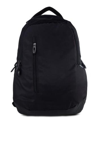 撞色內襯結構筆電後背包, 包, 電zalora時尚購物網評價腦包