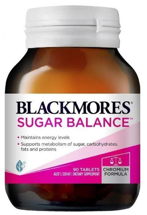 BLACKMORES BLACKMORES - Sugar Balance 90粒