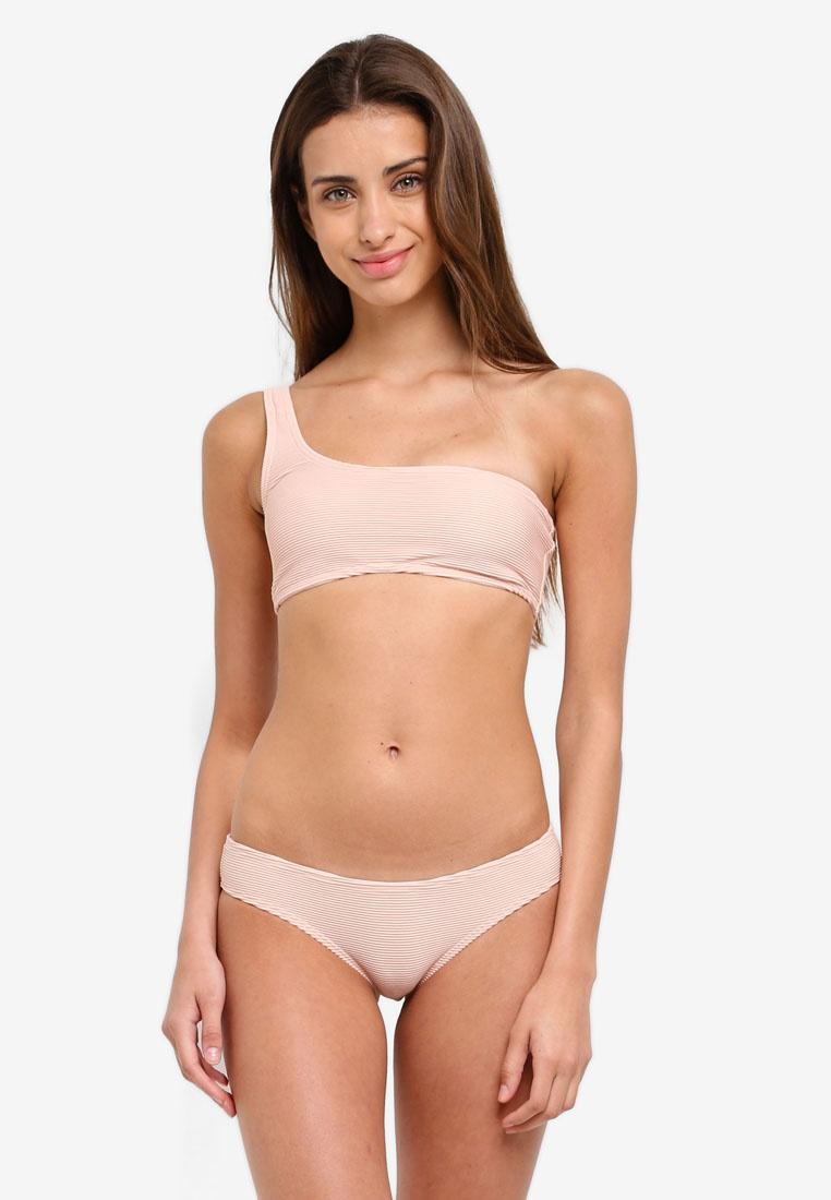 Billabong Bikini Tanlines Top Blush One Barely Shoulder vrvSFxq
