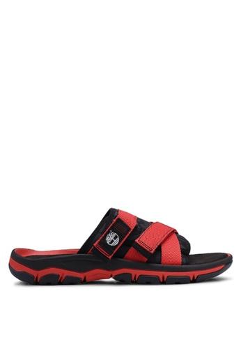 Timberland black Roslindale Slide Sandals 78C12SH59F88C4GS_1