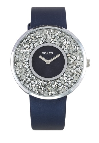 SO&CO navy Soho Watch 5223 SO540AC0SHN9MY_1