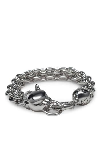 Guess silver Glamazon Bracelet GU020AC0S7M2MY_1