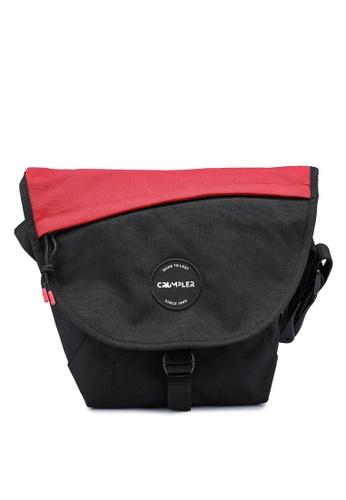 CRUMPLER black and red Ae Quarfie Messenger Bag 3A671AC0B830B4GS_1