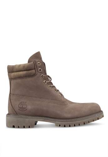 Timberland green Premium 6 Inch Waterproof Boots BB585SHE417188GS_1