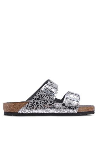 2baea31dcc4 Buy Birkenstock Arizona Metallic Stones Sandals Online on ZALORA Singapore