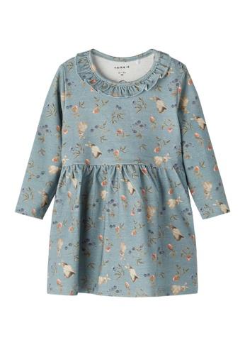 NAME IT blue Nalina Long Sleeves Dress 72D6EKA47AED78GS_1