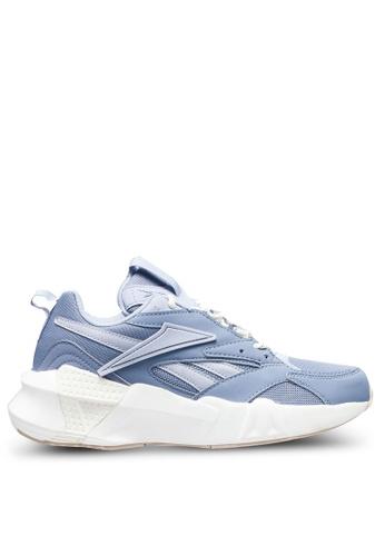 Reebok blue Aztrek Double Nu Pops Shoes 55B5CSHD604C1DGS_1