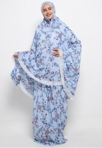 Aira Muslim Butik blue Syameel Travelling Prayer 51617AA012D6E0GS_1