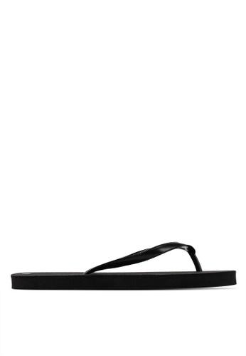 OVS 黑色 Basic 拖鞋 64280SH580CB7FGS_1