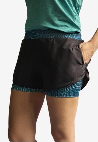 Allstar grey and multi Running Shorts DA987AA855BF67GS_1