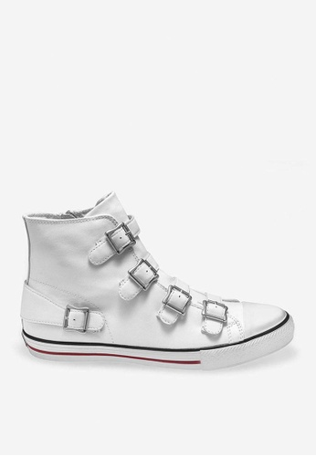 ASH white Vincent - White Strap Sneakers FE09CSH09110CCGS_1