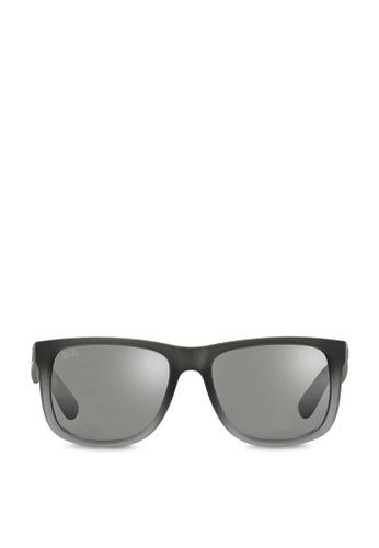 Ray-Ban Justin RB4165 Sunglasses RA370GL53SDQSG_1
