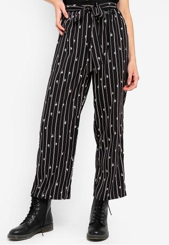 Something Borrowed multi Waist Tie Straight Leg Pants 64260AA6DF4176GS_1