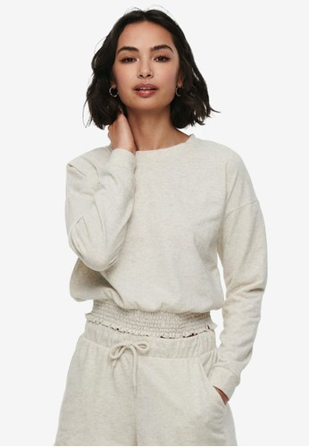 ONLY beige Cropped Sweater 55331AACC56754GS_1